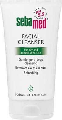 Рідкий засіб Sebamed для очищення жирної та комбінованої шкіри обличчя
