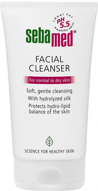Рідкий засіб Sebamed для очищення нормальної та сухої шкіри обличчя