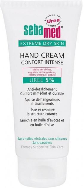 Крем для рук Sebamed для очень сухой кожи с 5% мочевиной