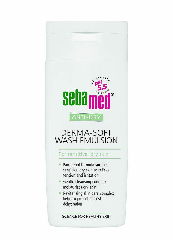 Емульсія для вмивання Sebamed для сухої та чутливої шкіри