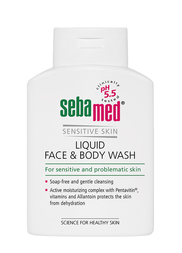 Рідкий засіб Sebamed для вмивання (обличчя і тіло)
